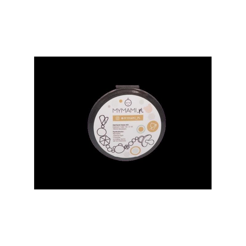 praktyczny pojemnik na smoczek kolor black